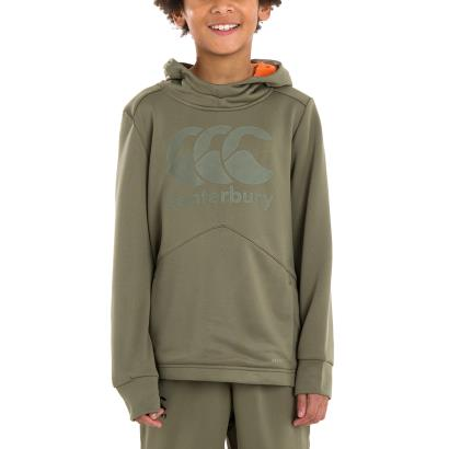 Canterbury Vapodri Training Hoodie Deep Lichen Green Kids - Model 1