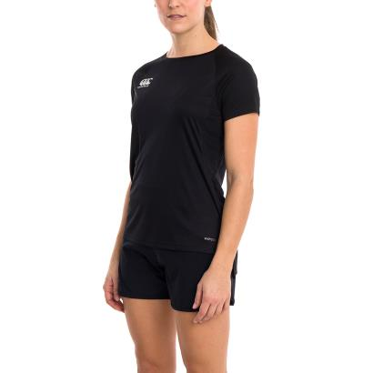 Canterbury Womens Vapodri Superlight Tee Black - Model 1