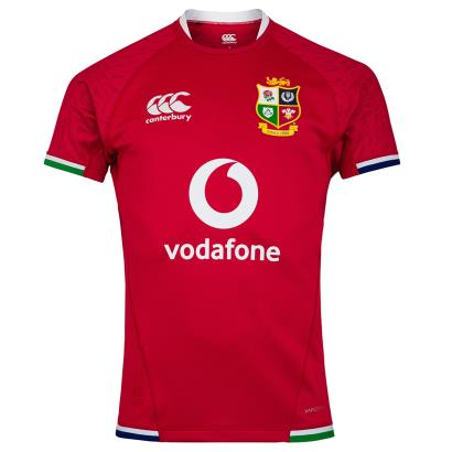 British and Irish Lions 2021 Test Rugby Shirt S/S - Front