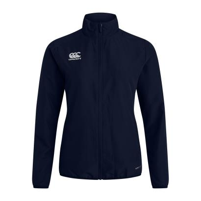 Canterbury Womens Club Track Jacket Navy - Front