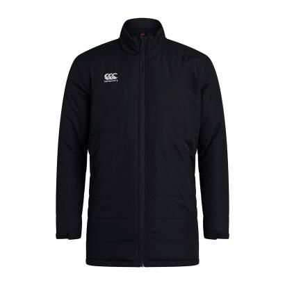 Canterbury Club Thermoreg Padded Jacket Black - Front
