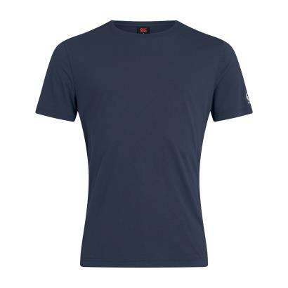 Canterbury Club Plain Tee Navy - Front