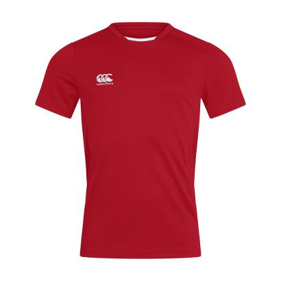 Canterbury Club Training Tee Red - Front