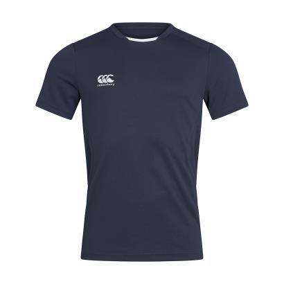 Canterbury Club Training Tee Navy - Front