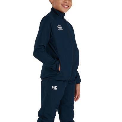 Canterbury Club Track Jacket Navy Youths - Model