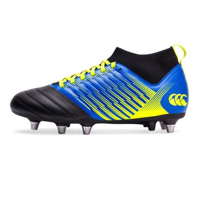 Canterbury Stampede 3.0 Pro Rugby Boots Victoria Blue - Front