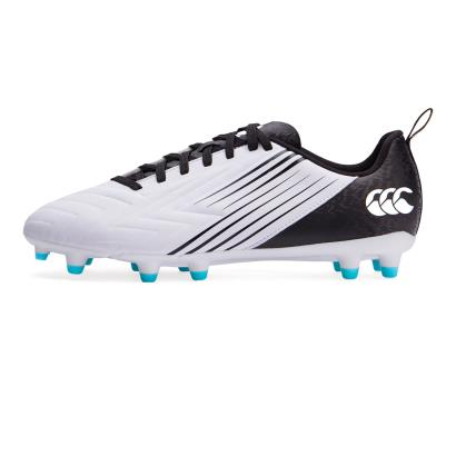 Canterbury Speed 3.0 FG Rugby Boots White - Front