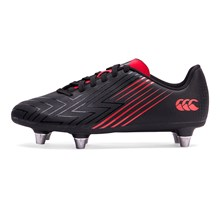 Canterbury Speed 3.0 Rugby Boots Black Kids - Front