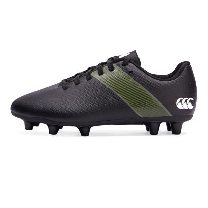Canterbury Phoenix 3.0 FG Rugby Boots Black Kids - Front