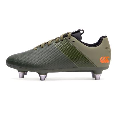 Canterbury Phoenix 3.0 Plus Rugby Boots Deep Lichen Green Kids - Front