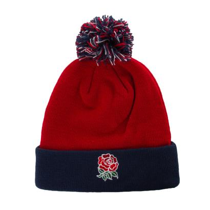 England Acrylic Bobble Hat Chilli Pepper 2020 - Front