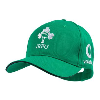 Ireland Cotton Drill Adjustable Cap Green 2020 - Front 1