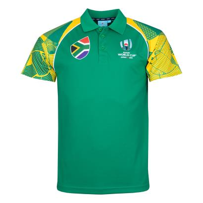 Rugby World Cup 2019 South Africa Polo - Front