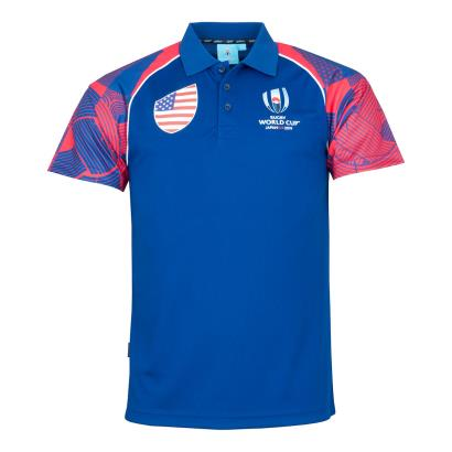 Rugby World Cup 2019 USA Polo - Front