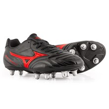 Mizuno Waitangi CL Rugby Boots Black - Front