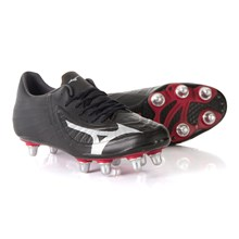 Mizuno Rebula 3 Pro Rugby Boots Black - Front