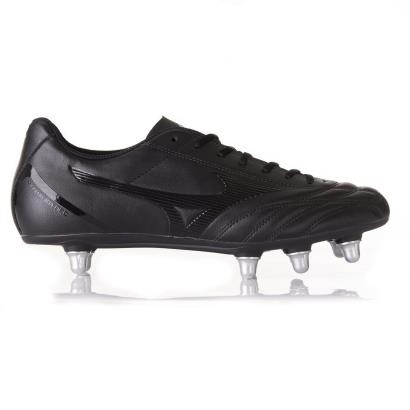 Mizuno Monarcida Neo Select Rugby Boots Black side 1