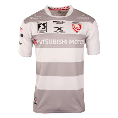 Gloucester Alternate Rugby Shirt S/S 2019 - Front