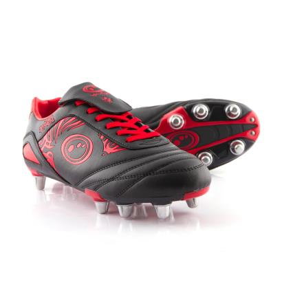 Optimum Razor Rugby Boots Red - Front