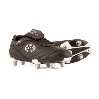 Optimum Razor Rugby Boots Black Kids - Front