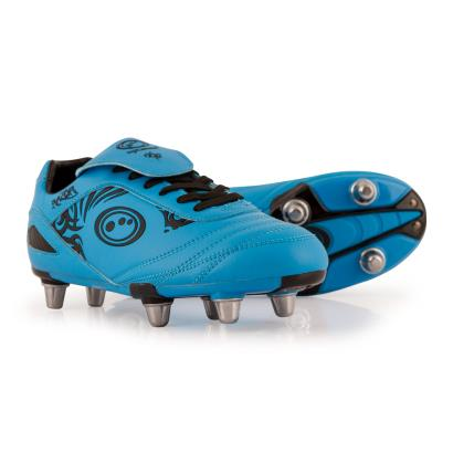 Optimum Razor Rugby Boots Cyan Kids - Front