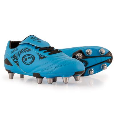 Optimum Razor Rugby Boots Cyan - Front