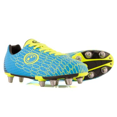 Optimum Viper Rugby Boots Cyan - Front