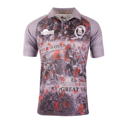 Army WWI Commemorative Rugby Shirt S/S - Front