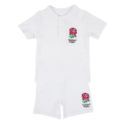 England Baby Tee Shirt and Shorts Set 2016 - Front