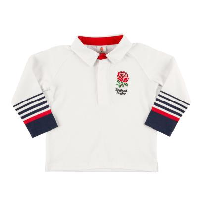 England Baby Classic Rugby Shirt 2018 - Front