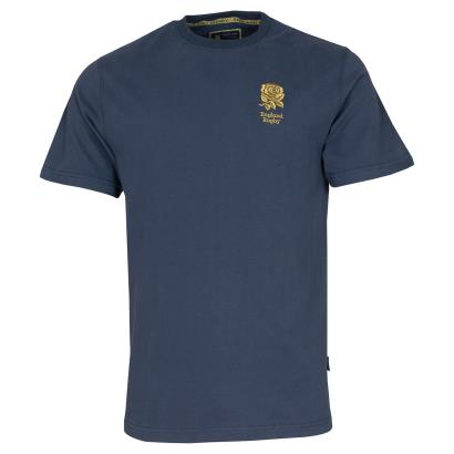 England 1871 Collection Cotton Tee Navy - Front