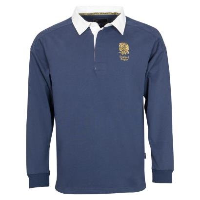 England 1871 Collection Classic Rugby Shirt L/S - Front