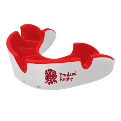Opro RFU Junior Silver Mouthguard - Front