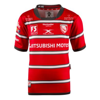 Gloucester Home Rugby Shirt S/S Youths 2019 - Front