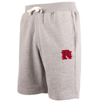 Front Up Rugby Taylor Jogger Shorts Grey - Front 1