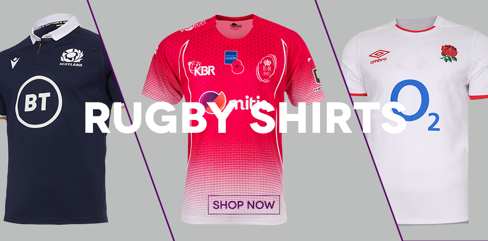 Rugby Shirts - SHOP NOW!