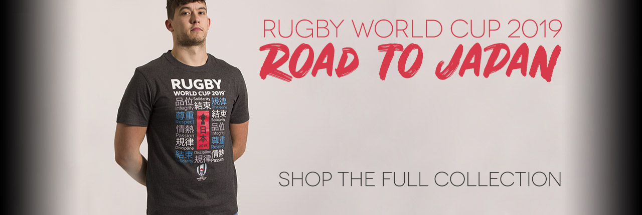 Rugby World Cup Collection - SHOP NOW!