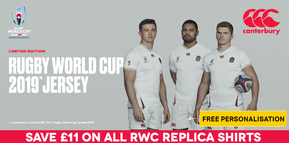 England Rugby World Cup 2019 - SHOP NOW!