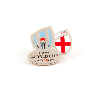 Rugby World Cup 2019 England Flag Pin Badge - Front