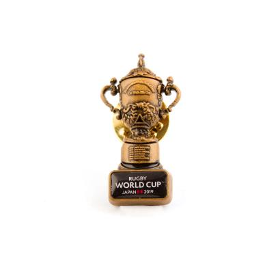 Rugby World Cup 2019 Webb Ellis Cup Pin Badge - Front