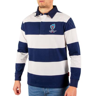 Rugby World Cup 2019 Stripe Rugby Shirt L/S - Model