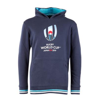 Rugby World Cup 2019 Pullover Hoodie Navy Kids - Front
