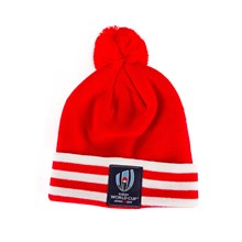902cf2ee41c Rugby World Cup 2019 Bobble Beanie Hat Red