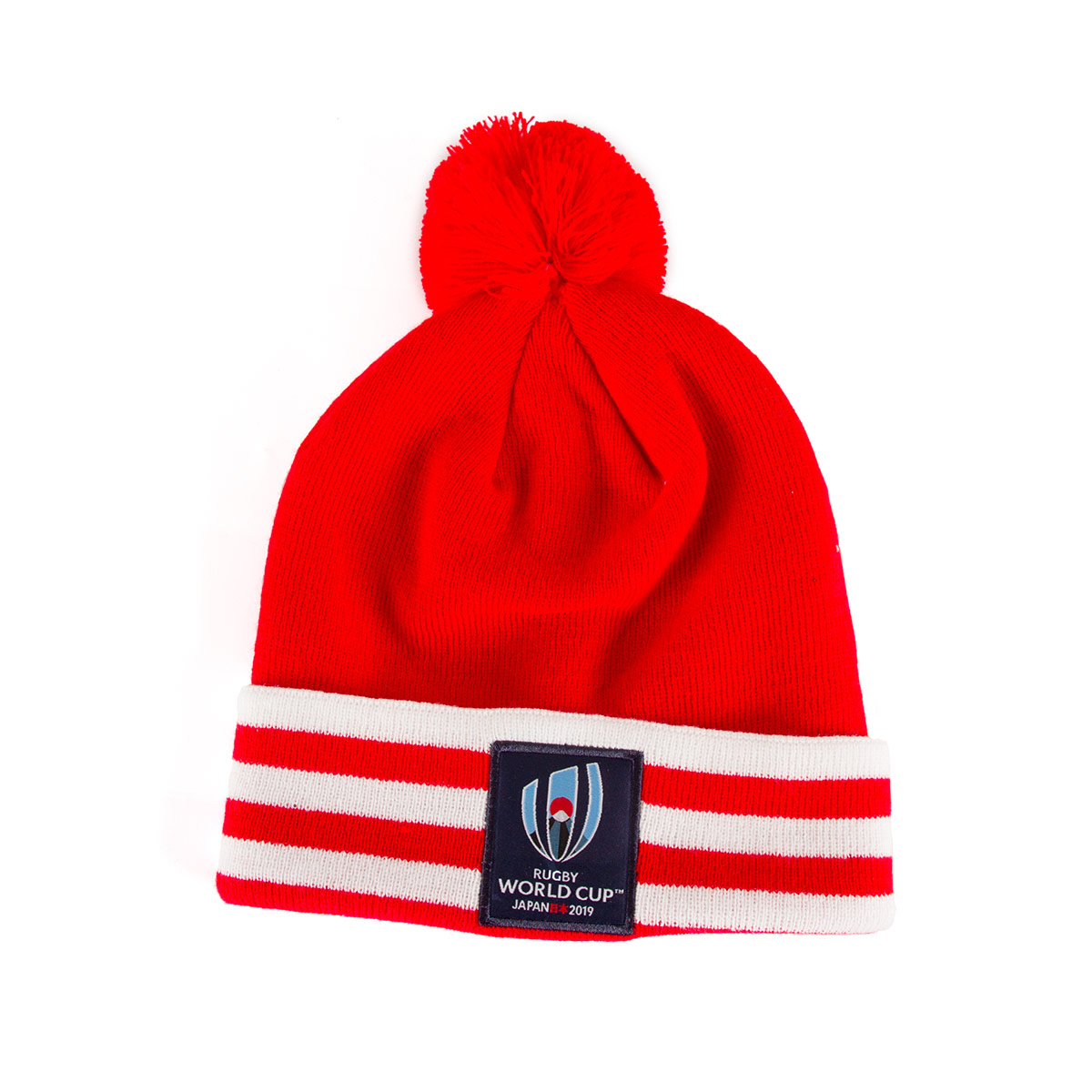 ab4165eef Red Rugby World Cup 2019 Bobble Beanie Hat