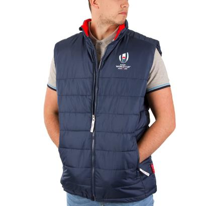 Rugby World Cup 2019 Padded Gilet Navy - Model
