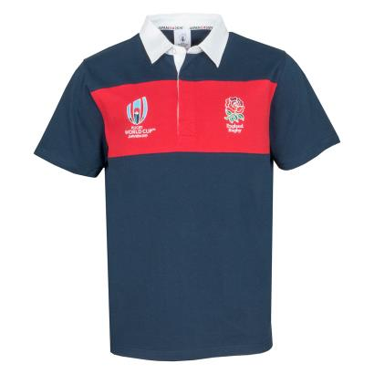 Rugby World Cup 2019 England Panel Rugby Shirt S/S - Front