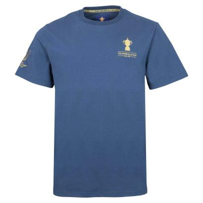 Rugby World Cup 2019 Webb Ellis Cotton Tee Navy - Front