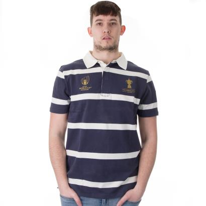 Rugby World Cup 2019 Webb Ellis Stripe Rugby Shirt S/S - Model 1