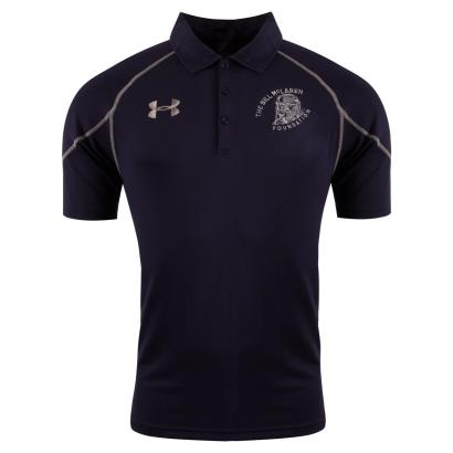 Under Armour Bill McLaren Foundation Vault Polo Navy - Front