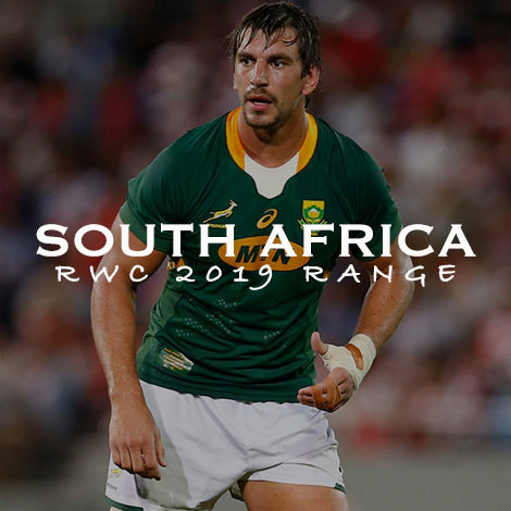 SOUTH AFRICA RWC 2019 RANGE - SHOP NOW!